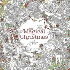 beautiful coloring and colors on pinterest on winter magic beautiful holiday patterns coloring book for adults