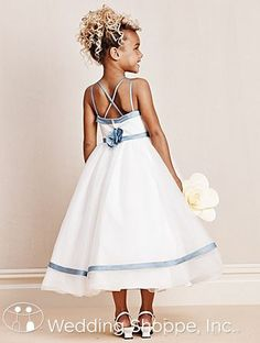 Flower Girl Dress from Alfred Angelo. Style 6667