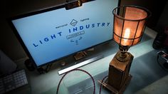 Industrial Steampunk Upcycled Machine Lamp G by LightindustryCA Upcycle, Steampunk, Industrial, Lighting, Etsy, Vintage, Design, Home Decor, Art