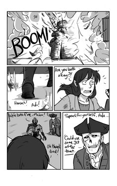 Blood and Thunder Hancock and Cass track down the final robobrain…along with Ahab. Music to go along with this battle: Mastodon - Blood and Thunder (Previous) (Next) (Story Archive for comics thus far!) Cass' reaction on the second page was exactly...