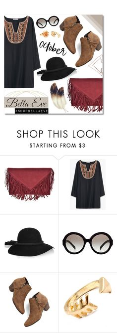 """Get The Look!"" by bellaeve ❤ liked on Polyvore featuring MANGO, Lanvin, Prada and Chelsea Crew"