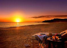 spiaggia di notte Salento