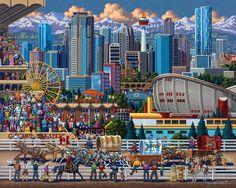 Calgary by Eric Dowdle - Calgary, Canada