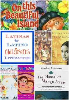 Collection of Latino books for kids, plus a collection of links on Latina Bloggers React: We Need More Hispanic Authors and Books. Our Stories Matter.