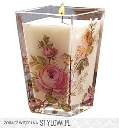 Pretty candles this is a pretty candle Candles And Candleholders, Candle Lanterns, Diy Candles, Scented Candles, Pillar Candles, Candlesticks, Decorative Candles, Candle Cups, Candle In The Wind