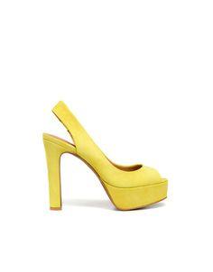 SUEDE SLINGBACK - High-heels - Woman - Shoes - ZARA Spain