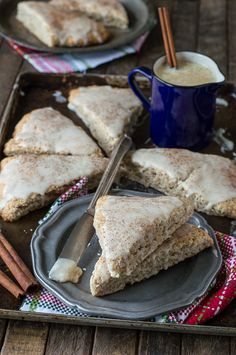 Eggnog Scones   The First Year