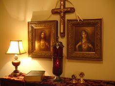 Catholic Altar at Home