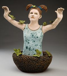 Butterfly Collector by Katherine Mathisen. Juried member of Florida Craftsmen Gallery.