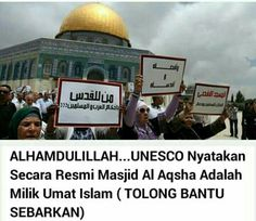 Whether it's true or not The fact that al aqsha belongs to ummah islam is still a fact