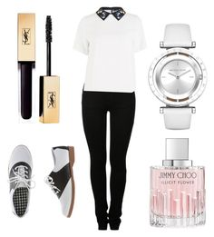 """""""watches"""" by mari3tta ❤ liked on Polyvore featuring MM6 Maison Margiela, Sportmax, Michael Kors and Jimmy Choo"""