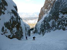 schlern 2563m - ski touring at the dolomites
