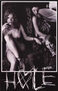 Courtney Love Band Hole Rare Poster by VintagePosterPlace