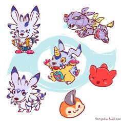 Gamumon - Digimon So cute Digimon Adventure Tri, Adventure Symbol, Adventure Tattoo, Gatomon, Digimon Digital Monsters, Kawaii, Cute Characters, My Childhood, Manga Anime