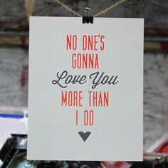 A cover of this song was ALMOST going to be our first dance. Would be a sweet reminder to put in the bedroom. (By The Metalbox Design Group)