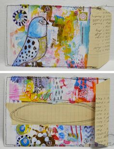 """""""Every Life Has a Story!"""" - {Roben-Marie Smith} - Mail Art Envelope Tutorial..."""