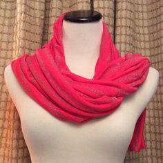 Victoria's Secret Scarf Victoria's Secret Supermodel Essentials Scarf! Pretty pink and glittery scarf! Victoria's Secret Accessories Scarves & Wraps