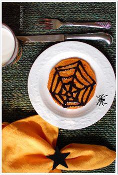 halloween pankcakes