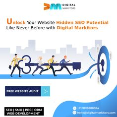 Your website may look great, but is it performing to its full potential on search engines? Get in touch with Digital Markitors to find out now. Call us on +91-9818888064 and speak to our experts to schedule your FREE WEBSITE AUDIT today.   #organicseo #google #seocompany #seoagency #searchengineoptimisation #onpageseo #offpageseo #guestpost #pressrelease #websiteauditreport #onlinemarketing #DigitalMarkitors Your Website, Free Website, Online Marketing, Digital Marketing, Best Seo Services, Best Seo Company, On Page Seo, Seo Agency, Press Release