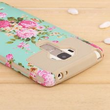 Hybrid ShockProof Hard Protective Case Cover for LG G Stylo LS770 / G4 Stylus
