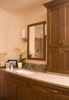bathroom backsplashes, backsplash tile, river rocks, backsplash