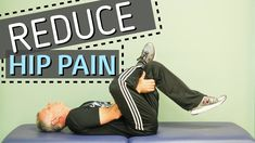 3 Stretches to Reduce Hip Pain Bob and Brad demonstrate hip stretches to decrease your pain. This week's giveaway: We are giving away a Dozeology Weighted Bl. Hip Stretches, Exercises, Reduce Hips, Hip Pain, Weighted Blanket, Physical Therapy, Fibromyalgia, Pain Relief, Medical
