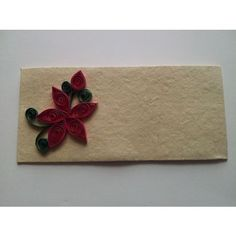 Quilled Money/Gift Envelope