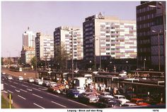 LEIPZIG, FUCK YEAH! : Leipzig 1976 - Blick auf den Stadtring by Herbert...