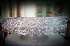 Beautiful Pedestal Collection by Donna Ashby on Etsy