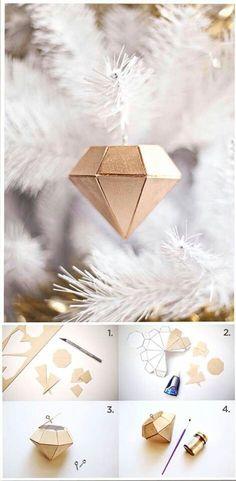 Diamond diy Christmas ornaments
