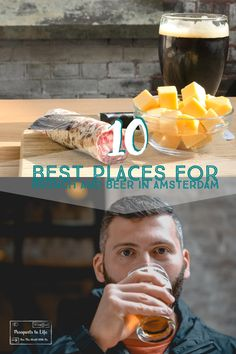 Amsterdam is a city that knows how to brunch! They are also really great at craft beer! I combined these two things to make the definitive list of places to have brunch in Amsterdam and grab a beer in Amsterdam!
