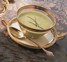 Green Pea Vichyssoise Recipe | Epicurious.com