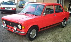 fiat 128 rally - was my car when i married in 1982