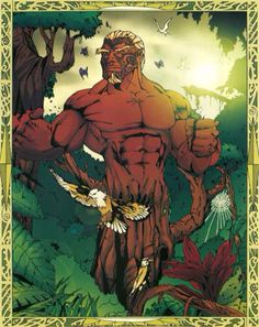 Tane Mahuta- Maori myth: the god of forests and birds.