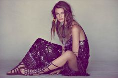 Behati Prinsloo Fronts Free People's June e-Catalog | Fashion Gone Rogue: The Latest in Editorials and Campaigns