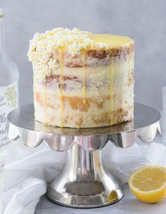 Lemon Elderflower Cake | Follow the Ruels