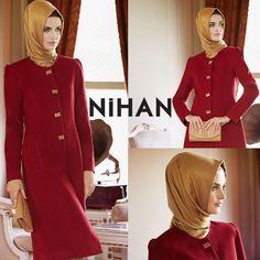 Sonbaharda her açıdan şık görünmenin yolu Nihan '13-'14 Sonbahar/Kış koleksiyonunda... #tesettür #tuğbavenn #fashion #hijab #shopping