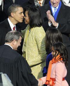 36 Photos of President Obama Gazing Lovingly at Michelle Obama  - ELLE.com