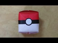 Easy Pokeball Bookmark - Pokemon Go Origami - Paper Crafts - Collab with Natasha Lee Pokeball Nails - YouTube