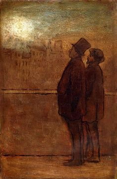 Honoré Daumier - The Night Walkers