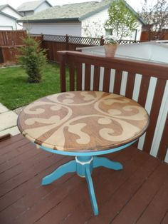 Kitchen Table Redo @Heather Cook ...are you still thinking of changing up yours?