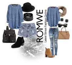 """""""Romwe contest :)"""" by mejra-s ❤ liked on Polyvore featuring Proenza Schouler, Eugenia Kim, Replay, MANGO, Michael Kors, Tory Burch, Mark Broumand, women's clothing, women and female"""