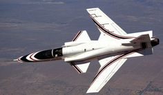 X-29 in Banked Flight
