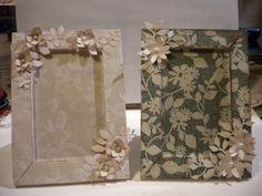 Lucy...scrap e non solo!: Altered frames...cornici decorate!