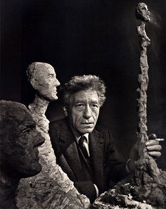 """Alberto Giacometti - """"For me, Art is only a means of knowing how I see the outside world."""""""