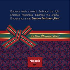 Embrace Christmas Time! It's time to celebrate life.  www.lionofporches.com