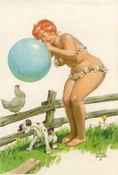 Hilda And The Balloon