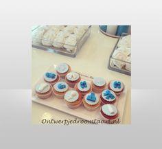 Cupcakes geboorte jongen