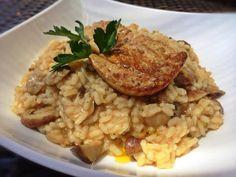 Una receta de lo más gourmet: risotto de boletus con foie