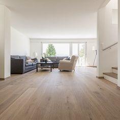 Musterhaus inneneinrichtung wohnzimmer  Eichenbretter - Finden Sie Dielen und bohle für boden hier ...